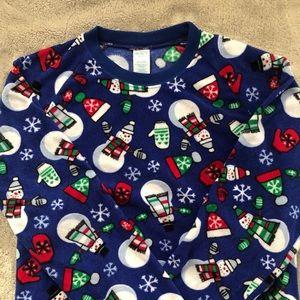 Children's Place fleece pajama top 14
